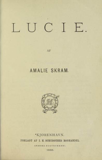 Faksimile av tittelbladet, 1. utg. 1888