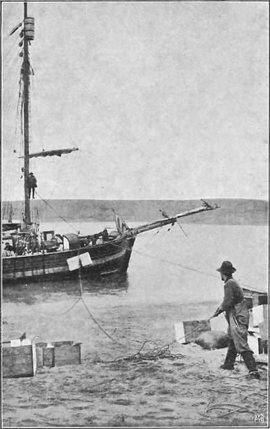 GJØA LOSSER PR. LUFTBANE. GJØAHAVN 1903.