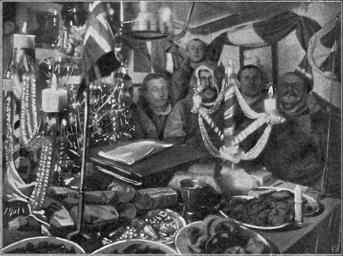 FØRSTE JULEAFTEN OMBORD - 1903.