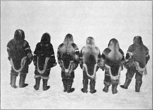 EKSPEDITIONENS DELTAKERE BAKFRA (VINTEREN 1903-1904).