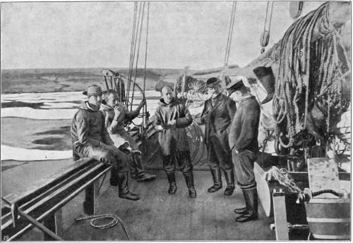 DÆKSCENE (SOMMEREN 1904).