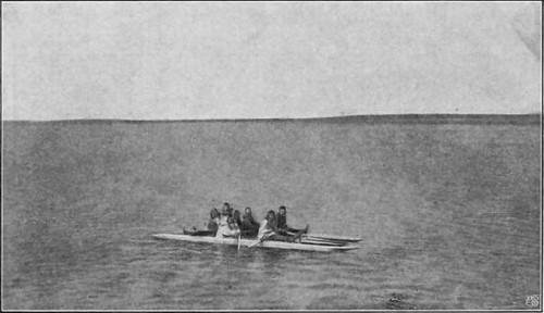 EN ESKIMOFÆRGE (KAMIGLU 1905).