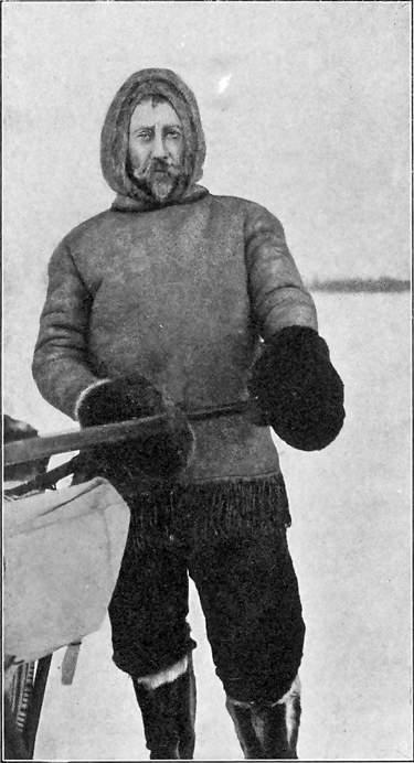 ROALD AMUNDSEN VED AVGANGEN FRA EAGLE CITY 1906.