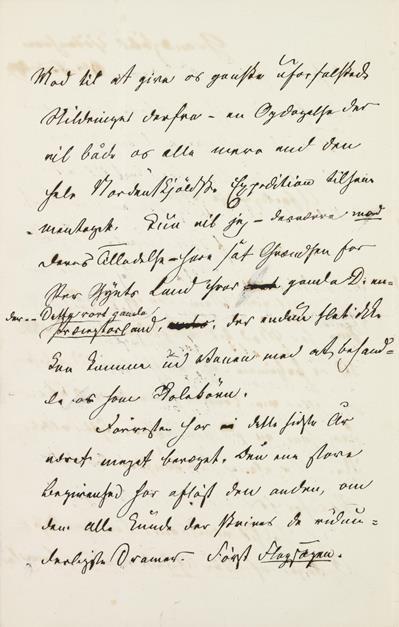 brevside med rettelser