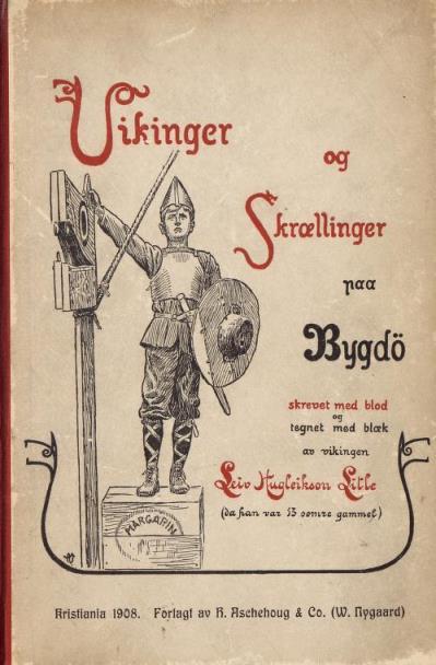 Faksimile av omslag, 1. utgave, 1908