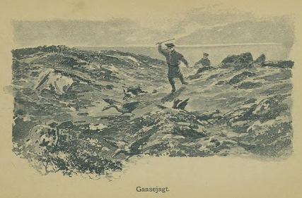 Illustrasjon fra Skildringer fra Finmarken (Ella), 1. utgave, 1891, s. 78