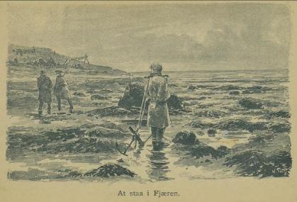 Illustrasjon fra Skildringer fra Finmarken (Ella), 1. utgave, 1891, s. 108