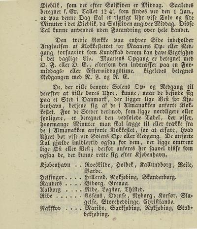 Dagbok 1850, almanakk (s. 4), Ms.8° 869