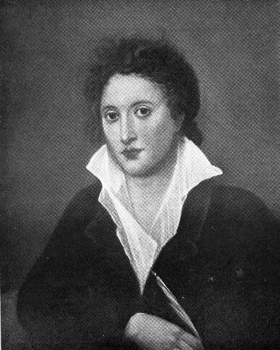 Percy Bysshe Shelley, malt  av Amelia Curran (1819)