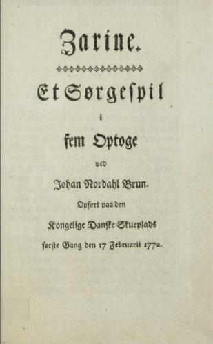 Tittelside, 2. utgave, 1778