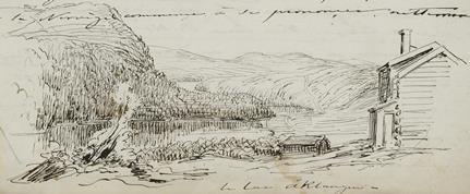 le lac Åklangen –