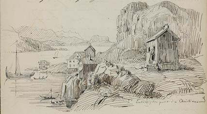 Entrée du port de Christiansund