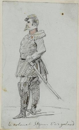 le colonel Sturm Vergeland