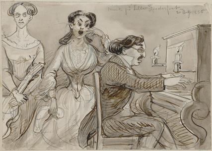 Musikk på Lilla Förderfvet, 20. august 1856