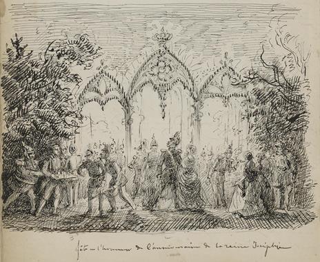 fête en l'honneur de l'anniversaire de la reine Joséphine