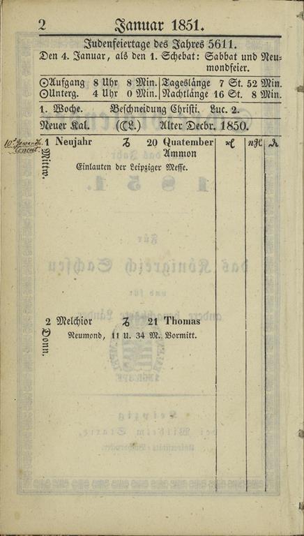 1851_almanakk_januar_1