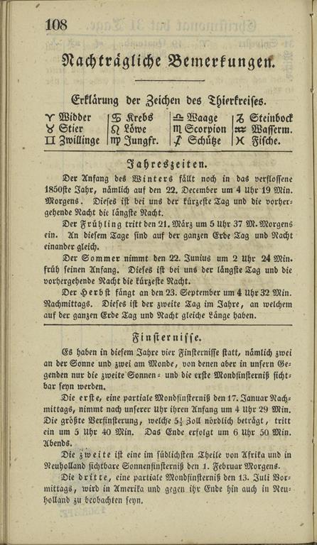 1851_almanakk_tegnforklaringer_1