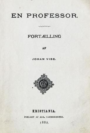 Tittelblad, 1. utgave 1882