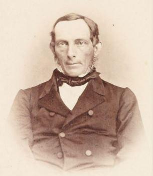 Johan Christian Collett: Fotograf ukjent, 1863