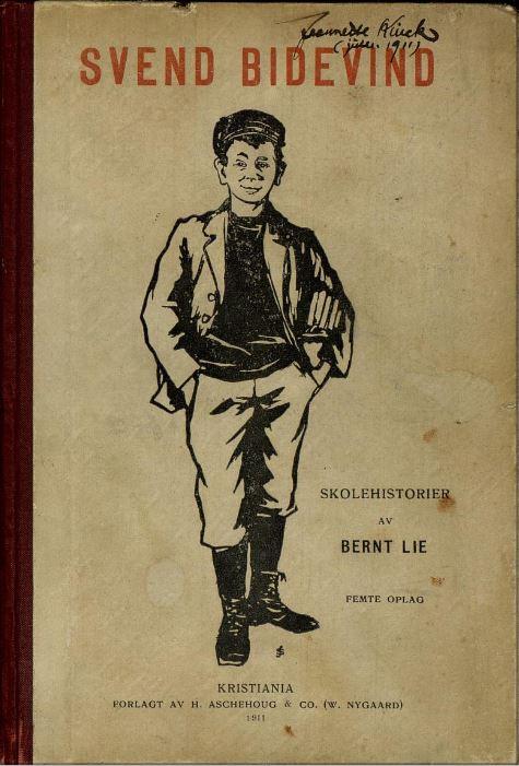 Omslag 5. opplag, 1911