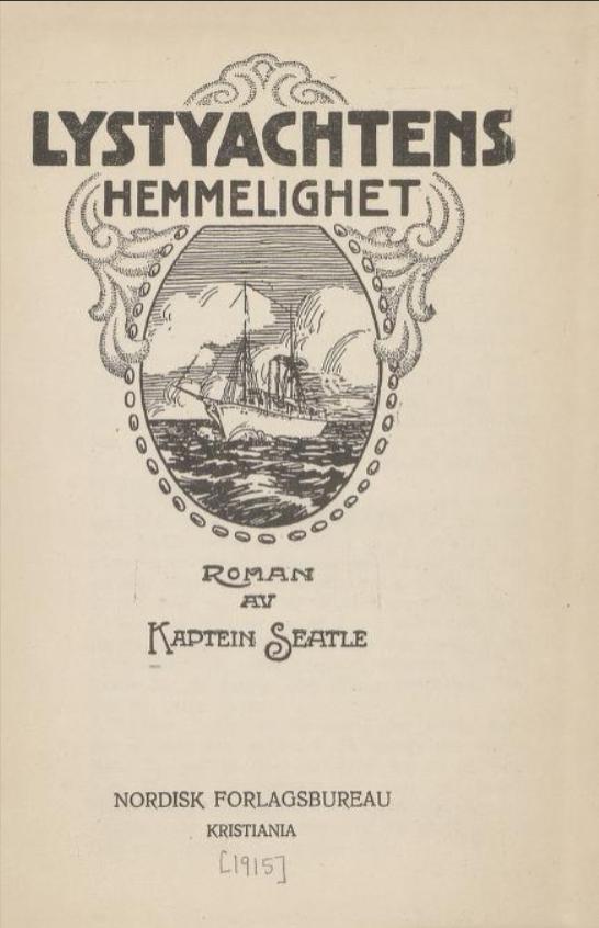 Omslag, 1. utgave, 1915