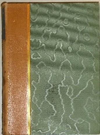Ryggbind, skinnrygg og dekorert papirovertrekk
